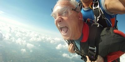 Is Skydiving Scary?