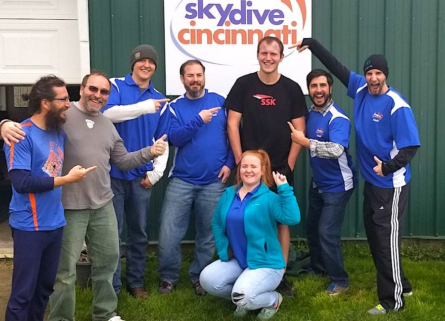 Experienced Skydivers | Skydive Cincinnati