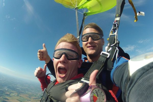 skydiving near dayton ohio